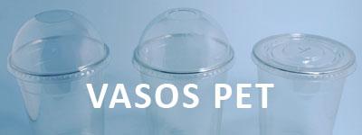 Vasos de plástico PET